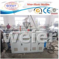 Quality SJSZ - 65/132 Twin Screw Extruder  , Recycled PP / PE wood plastic extrusion equipment for sale
