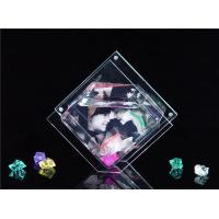 Wholesale Mini Rhombus Shaped / Custom Acrylic Fish Tank , Desktop Fish Bowl 3mm Clear from china suppliers
