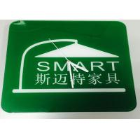 Wholesale Contemporary Custom Logo Clocks Promotional Square Office Clock Green from china suppliers