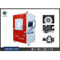 Iron Castings Universal X Ray Metal Inspection Cabinet 160 KV , No Visible Lead Shielding