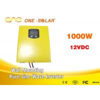 Wholesale Dc To Ac Single Phase Pure Sine Wave Inverter 1000w 24v 110v 220v For Solar System from china suppliers