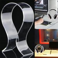Wholesale 5mm Clear Acrylic Headphones Stand Headset Holder Earphone Display Rack from china suppliers
