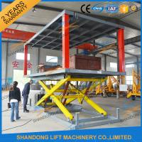 Buy cheap Hydraulic Electric Type Portable Fixed In Ground Car Lift For Parking With CE from wholesalers