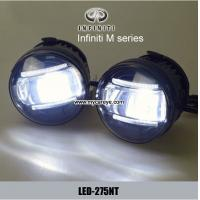Wholesale Infiniti M series front fog lights led car light replacements DRL daylight from china suppliers