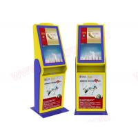 Wholesale Good Price High quality customized 32 inch touchscreen lobby free stand cinema ticket vending Kiosk with card reader from china suppliers