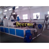 Wholesale Automatic Double Screw PVC WPC Plastic Pellet Making Machine For Granules from china suppliers