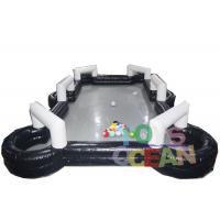 Wholesale Giant Teambuilding Game Inflatable Football Table Snooker Billiard Soccer Field from china suppliers