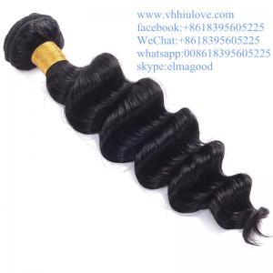 Buy cheap deep hair extensions top quality 100% virgin wholesale peruvian hair weaving from wholesalers