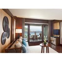 Quality Luxury Suite Furniture Modern Bedroom Furniture Set For Holiday Inn / Resort for sale