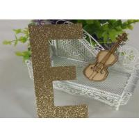 Wholesale Customized Handmade Glitter Cardstock Letters Upper Case Letters E from china suppliers