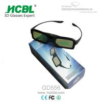 Wholesale 144Hz DLP Projector Universal Active 3D TV Glasses With PC Frame , 1.6mm LCD Lens from china suppliers