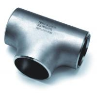 Wholesale JIS B2311 , EN10253-1 304 304L 310 Stainless Steel Pipe Fittings Equal Tee , Recuding Tee from china suppliers