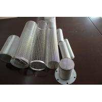 Wholesale Stainless Steel / Iron Punching Net Custom Filter Skeleton / Flange Air Filter Cartridge from china suppliers
