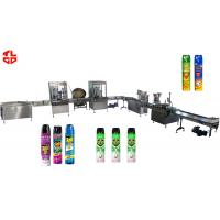 Wholesale Pneumatic Automatic Aerosol Filling Machine for Pesticide Insecticide Insect Killer from china suppliers