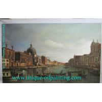 China Venice building oil painting on sale