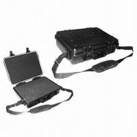 Quality Plastic Tool Case with Foam Insert, Water/Shockproof, RoHS Directive- compliant, IP68  for sale