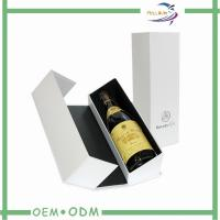 Wholesale White Personalized Wine Gift Boxes Foil Stamp Logo OEM / ODM from china suppliers