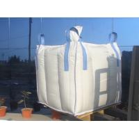 2 ton 4-panel baffle big Q bag , Sand / Flour / Rice Flexible FIBC Jumbo Bags