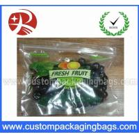 Wholesale Plastic Custom Printed Ziplock Bag Eco-friendly , biodegradable from china suppliers