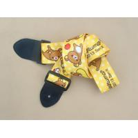 Quality Nylon guitar strap with free sample custom print logo welcome for sale