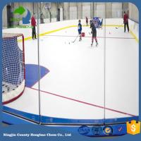 Quality China Maunfacturer Entertainment Playard Hockey Shooting Synthetic Ice Rink Hdpe Sheet Floor Mat Board Thickness 20mm for sale