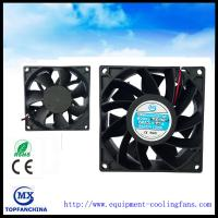 China 38mm Thick Booster Computer Cooling Fans 48v 60v High Air Flow on sale