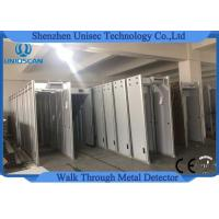 Wholesale IP31 Walk Through Metal Detector 6 Zones Security Gate With LED Screen from china suppliers