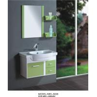 Wholesale hanging  cabinet / PVC bathroom vanity / wall cabinet / red color for house 80 X49/cm from china suppliers