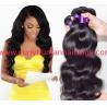 Buy cheap Fashion 6A 100% Peruvian Virgin Hair Straight Peruvian Hair Bundles Black 18 Inch from wholesalers
