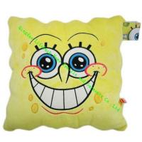 Buy cheap Soft PP Cotton Modern Throw Pillows 45x45cm , SpongeBob Cute Car Seat Cushion from wholesalers