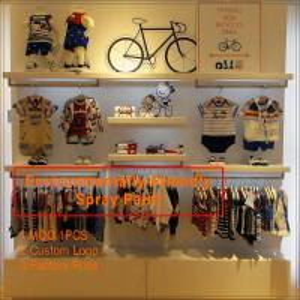 Quality High End baby shop garment display rack / kids shoes display rack/  cheap glass display ca for sale