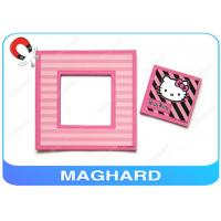"Wholesale 4"" x 4"" Square Cute Fridge Magnet Photo Frame Pink , Hello Kitty Picture Stylish from china suppliers"