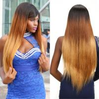 "Wholesale 100% Ombre Three Tone Straight Brazilian Virgin Hair 30"" Hair Extensions Tangle Free from china suppliers"
