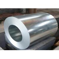 China DX51D Galvanized Steel Coil , Steel Sheet Coil Coated Surface Good Edge Trimming on sale