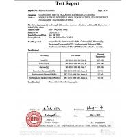 GUANGZHOU SMYTA PACKAGING MATERIAL CO., LIMITED Certifications