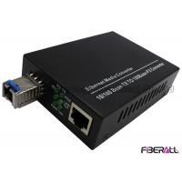 Wholesale Changeable Fiber Media Converter With SC SFP Optical Transceiver Carrier grade from china suppliers