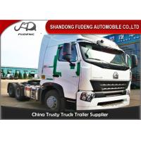 Wholesale CNHTC HOWO Tractor Head Trucks 420 Horse Power HW1697 Single Reduction Axle from china suppliers