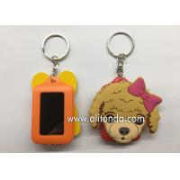Wholesale Cartoon dog cat pet shape keychain custom with card holder photo frame design key chain from china suppliers