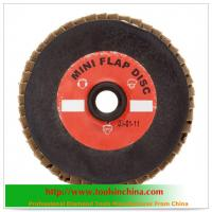 China aluminium oxide abrasive flap disc on sale