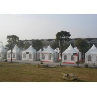 Wholesale Small Beautiful Pagoda Outdoor Party Tent Long Life Span Flame Resistant from china suppliers