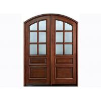 Wholesale Inward Swing Exterior Timber Doors with Fir Wood / MDF Frame from china suppliers