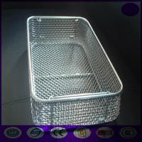 Wholesale grade 304 medical stainless steel disinfecting basket wholesale for sterilization PRICE from china suppliers