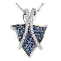 Wholesale Pendant Sapphire & Diamond Pendant from china suppliers