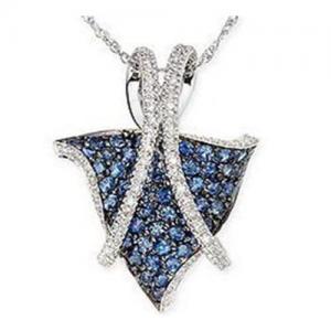 Wholesale Pendant Sapphire & Diamond Pendant from china suppliers