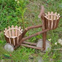 Wholesale Flowerpot / Wood Flowerpot with Two Pots from china suppliers