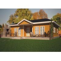 Wholesale Leisure Small Green Prefabricated Cottage Modular Homes Modular Villa With Bathroom from china suppliers