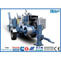 Wholesale 60kN 6 Ton 220kv Overhead Transmission Line Stringing Equipment with Cummins Diesel Engine from china suppliers
