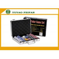 Wholesale Travelling Promotional Free Gifts  200 pcs 11 G Poker Chips Set For Family from china suppliers