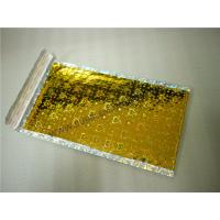 """Wholesale Heat Seal Gold Holographic Bubble Mailers 6""""X10"""" #0 Aluminum Foil Moisture Proof from china suppliers"""