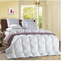 Wholesale Alternative Satin Piping White 0.9D Light Blue Quilt Hotel Household Comforter from china suppliers